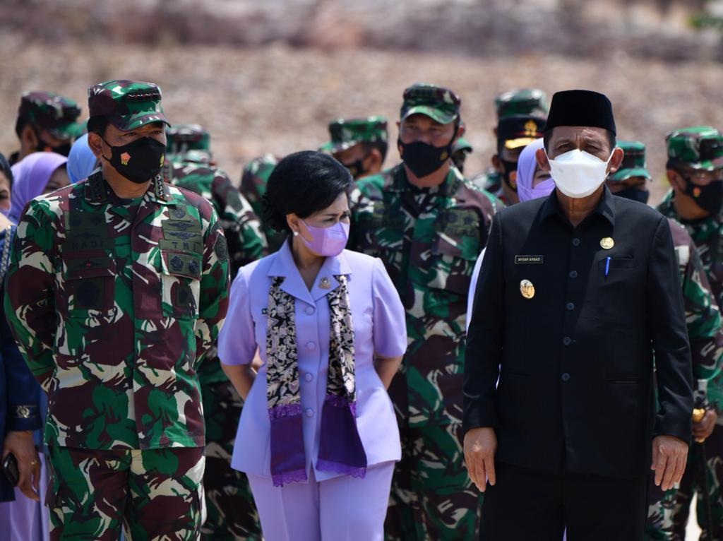 Resmikan Gedung Makogabwilhan I, Panglima TNI: Untuk Memperpendek Rantai Komando