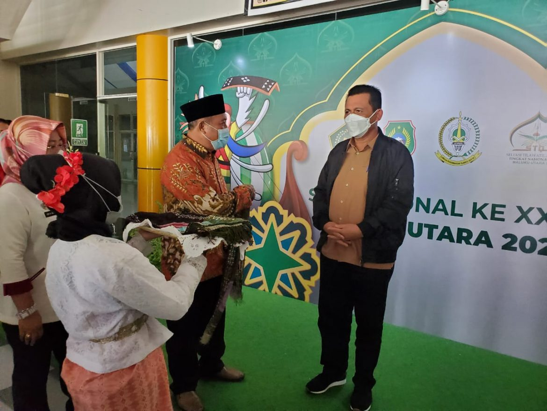 Bawa Rombongan Kafilah Kepri, Gubernur Optimis Kepri Juara