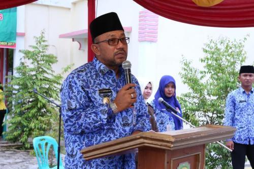 Walikota Tanjungpinang H. Lis Darmansya SH, saat mengapresiasi penyebaran kanker seviks sejak dini